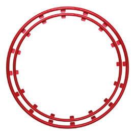 red rim protector rim ringz