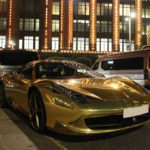 gold-plated-car